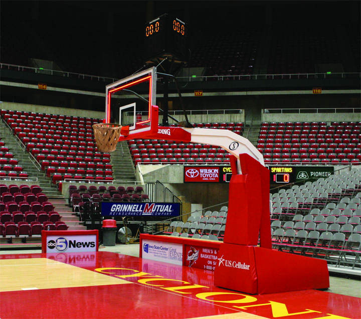 Portable Demountable Basketball Ring